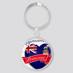 cayman islands Round Keychain