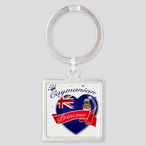 cayman islands Square Keychain