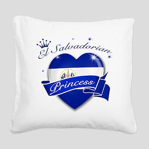 el salvador Square Canvas Pillow