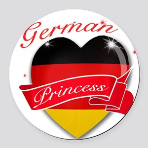 germany Round Car Magnet