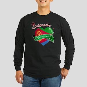 eritrea Long Sleeve Dark T-Shirt