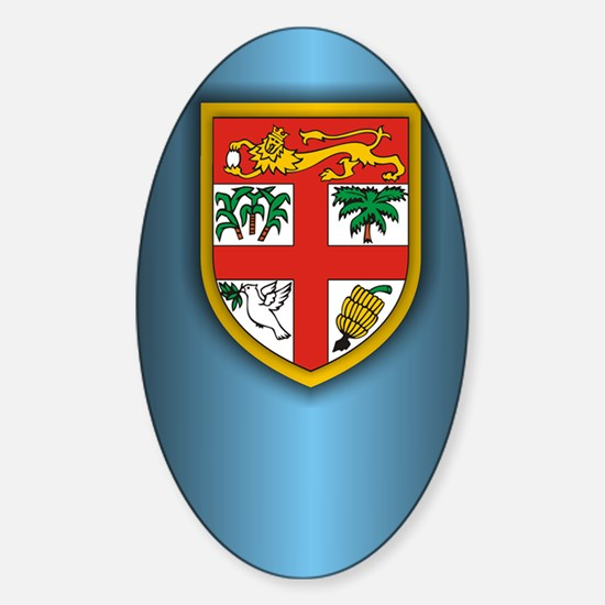 Fiji (incred2) Sticker (Oval)
