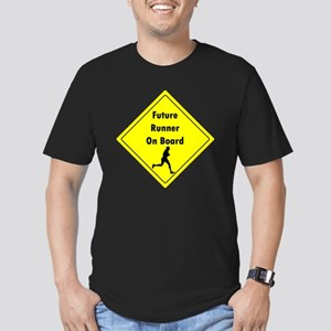 Future Runner On Board Men's Fitted T-Shirt (dark)