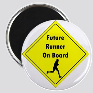 Future Runner On Board Maternity T-Shirt Magnet