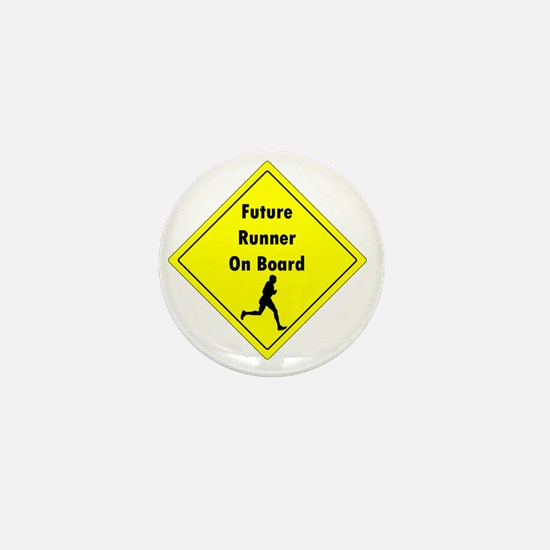 Future Runner On Board Maternity T-Shi Mini Button