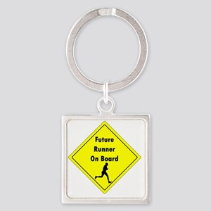Future Runner On Board Maternity T Square Keychain