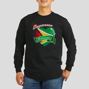 guayan Long Sleeve Dark T-Shirt