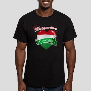 hungary Men's Fitted T-Shirt (dark)