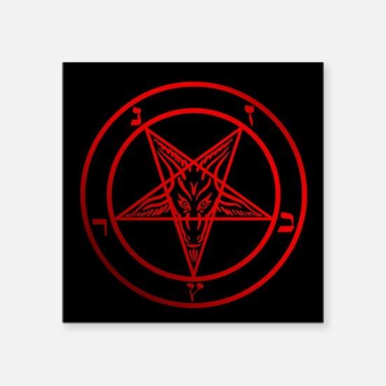 Satanic Pentagram Sticker