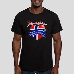 norway Men's Fitted T-Shirt (dark)