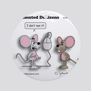 mice_and_mouse Round Ornament