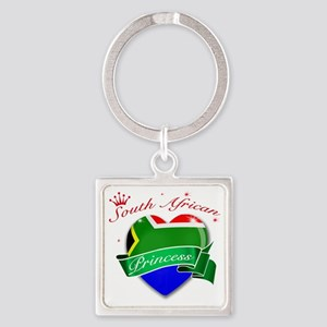 south africa Square Keychain