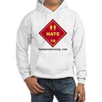 Hate Hooded Sweatshirt