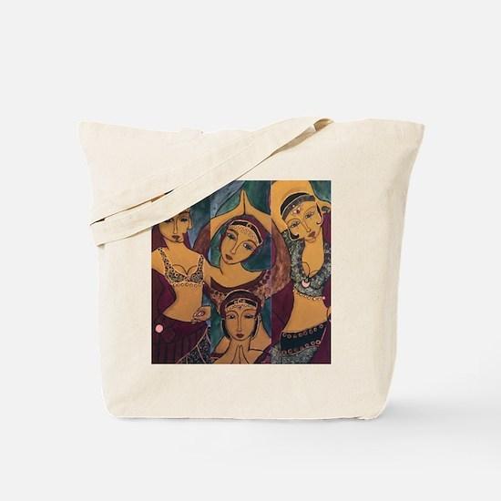 Sisters In Dance Tote Bag