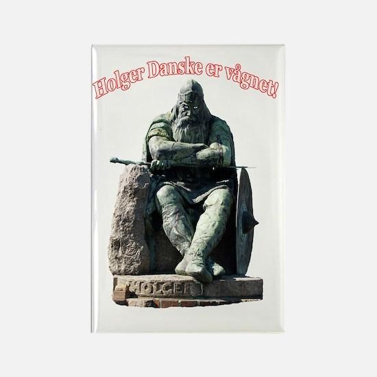 Holger_Danske_f Rectangle Magnet