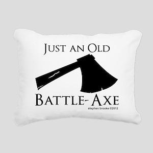 battleaxe2 Rectangular Canvas Pillow