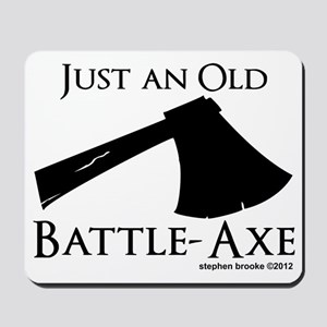 battleaxe2 Mousepad