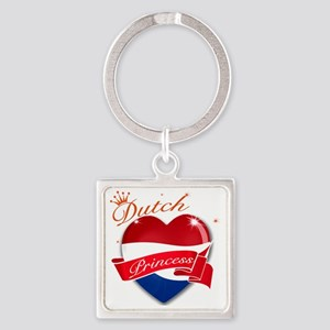 dutch Square Keychain