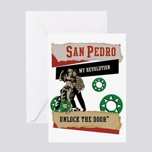 San Pedro Greeting Card