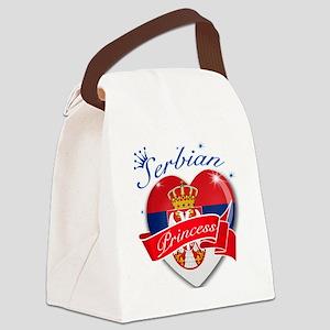 serbia Canvas Lunch Bag