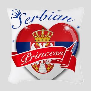 serbia Woven Throw Pillow