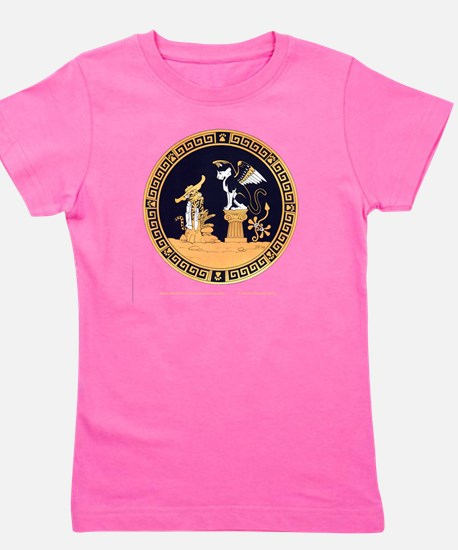 Oedipus and the Sphinx T Girl's Tee