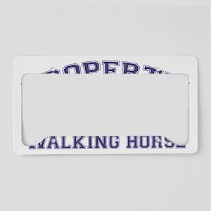 walkinghorseproperty License Plate Holder