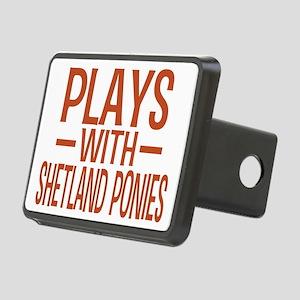 playsshetlandponies Rectangular Hitch Cover