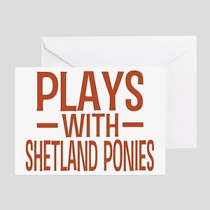 playsshetlandponies Greeting Card