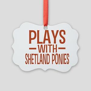 playsshetlandponies Picture Ornament