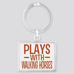 playstennesseewalkinghorses Landscape Keychain
