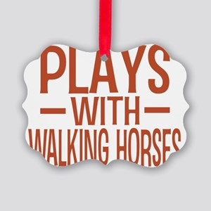 playstennesseewalkinghorses Picture Ornament