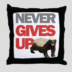 BADG13 Throw Pillow