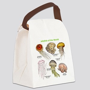 Jellyfish of the World Canvas Lunch Bag