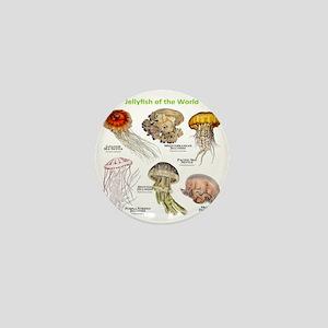 Jellyfish of the World Mini Button