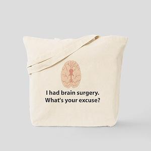 I had brain surgery. What's Tote Bag
