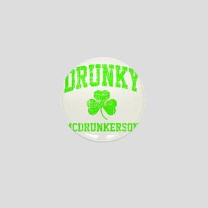 Green Drunky Mini Button