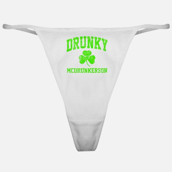Green Drunky Classic Thong