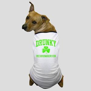 Green Drunky Dog T-Shirt