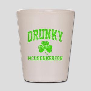 Green Drunky Shot Glass