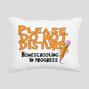 homeschool23 Rectangular Canvas Pillow
