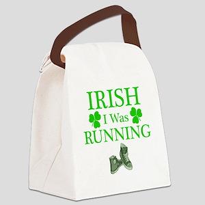 IrishIWasRunning Canvas Lunch Bag