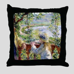 Renoir Cal2 Throw Pillow