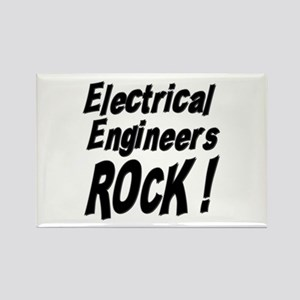 Electrical Engineers Rock ! Rectangle Magnet