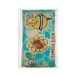 Bumblebee Rectangle Magnet