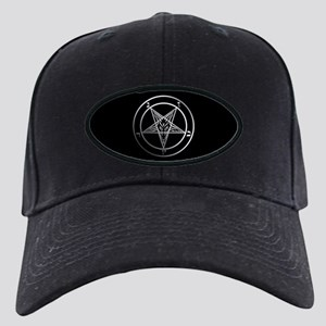 Satanic Pentagram Black Cap with Patch