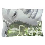 In the Garden - Quan Yin Flowers Pillow Case