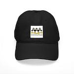 Burning Stare Penguins Black Cap
