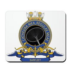 Barfleet logo Mousepad