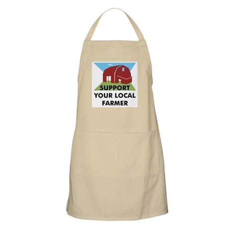 Support Your Local Farmer BBQ Apron